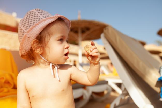 Spray przeciwsłoneczny dla dzieci